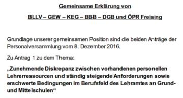 Eklatanter Personalmangel In Grund Und Mittelschulen Gew Bayern